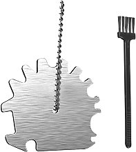 Stainless Steel BBQ Grill Scraper Barbecue Grill