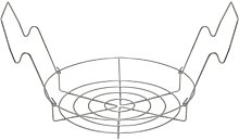 Stainless Steel Canning Rack, Flat, by VICTORIO