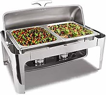 Stainless Steel Chafing Dish, 9L Catering Buffet