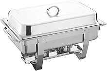 Stainless Steel Chafing Dish Food Pan Warmer -