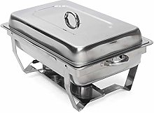 Stainless Steel Chafing Dish Set Buffet Silver