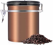 Stainless Steel Coffee Tea Beans Container With