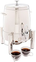 Stainless Steel Coffee Urn, Hot Water Dispenser -