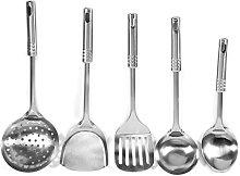 Stainless Steel Cooking Spatula Set Kitchen