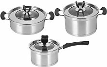 Stainless Steel Cookware Set Essentials Nonstick
