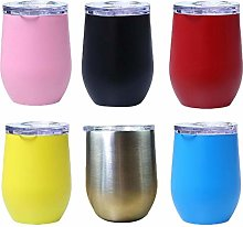 Stainless Steel Cup Coffee Cup 350ml Wine Glass