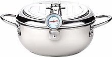 Stainless Steel Deep Fat Fryer With Thermometer