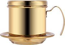 Stainless Steel Drip Coffee Filter Maker Pot
