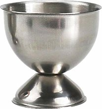 Stainless Steel Egg Cup Holder with Soft seat,