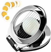 Stainless steel egg slicer, egg slicer, 3-in-1 egg
