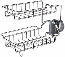 Stainless Steel Faucet Rack Kitchen Storage