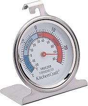 Stainless Steel Fridge Dial Thermometer