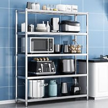 Stainless Steel Garage Kitchen Storage Shelf 4