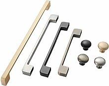 Stainless Steel Handle Modern Minimalist Golden