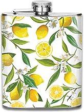 Stainless Steel Hip Flask Bath Rug Lemon Tree Flat