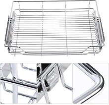 Stainless Steel Kitchen Pull-Out Basket Sliver
