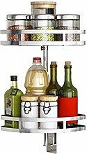 Stainless Steel Kitchen Seasoning Storage Rack
