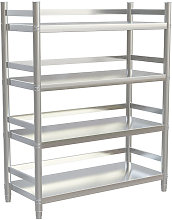 Stainless Steel Kitchen Shelving Shelf 4 Tier