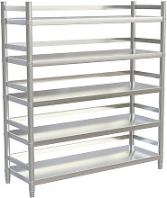 Stainless Steel Kitchen Shelving Shelf 5 Tier