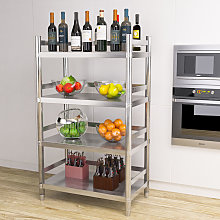 Stainless Steel Kitchen Shelving Unit 4 Tier