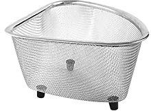Stainless Steel Kitchen Sink Drain Basket Triangle