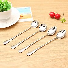 Stainless Steel Long Handle Mixing Spoon Household