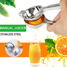 Stainless Steel Manual Citrus Juicer Stainless