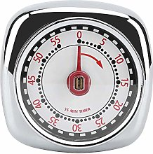 Stainless Steel Mechanical Kitchen Timer with