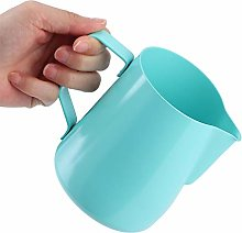 Stainless Steel Milk Froth Pot,350ml Stainless