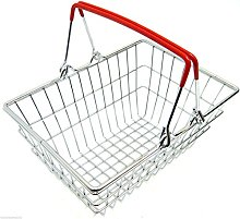 Stainless Steel Mini Shopping Basket Chip Wedges
