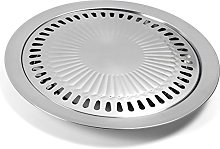 Stainless Steel Non-Stick Roasting Round Barbecue