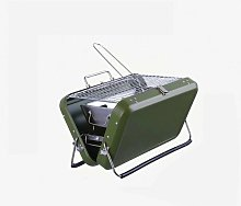 Stainless steel outdoor household barbecue grill