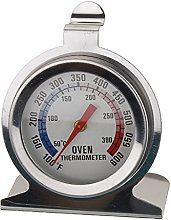 Stainless Steel Oven Thermometer Large Dial