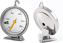 Stainless Steel Oven Thermometer with Hanging Hook