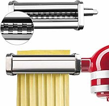 Stainless Steel Pasta Roller Cutter Attachment