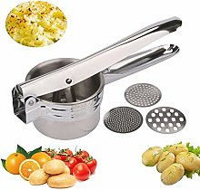 Stainless Steel Potato Ricer Masher with Good Grip