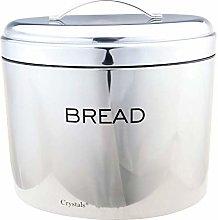 Stainless Steel Powder Coated Oval Shape Bread Bin