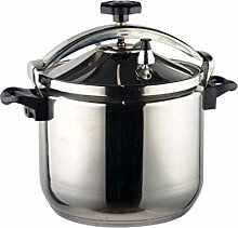 Stainless Steel Pressure Cooker, Large Capacity