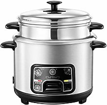 Stainless Steel Rice Cooker, Slow Cooker and Food