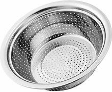 Stainless Steel Rice Washing Bowl Colander Kitchen