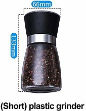 Stainless Steel Salt And Pepper Mill Manual Food