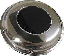 Stainless Steel Solar Powered Extractor Fan -
