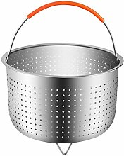 Stainless Steel Steamer Basket with Handle for