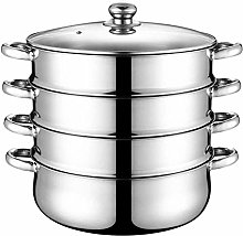 Stainless Steel Steamer Cooker 4-Tier Steamer