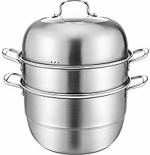 Stainless Steel Steamer Pot Chinese Multi-Layer