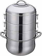 Stainless Steel Steamer Pot Chinese Thicken
