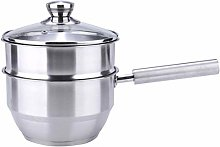 Stainless Steel Steamer Pot, Induction-Safe Double