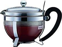 Stainless Steel Teapot / Sieve, 0.5 L