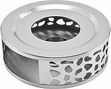 Stainless Steel Teapot Warmer Base, Round Teapot