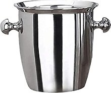 Stainless Steel Thickened Ice Bucket Wine Cool